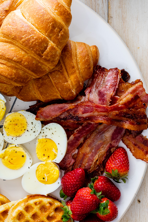 Easy Holiday breakfast board
