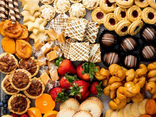Easy Holiday Dessert Board Simply Delicious