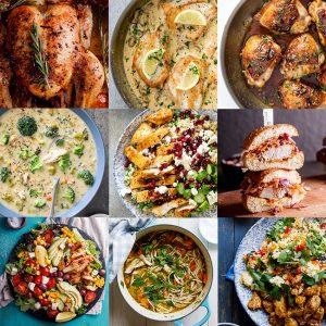 60+ easy chicken recipes
