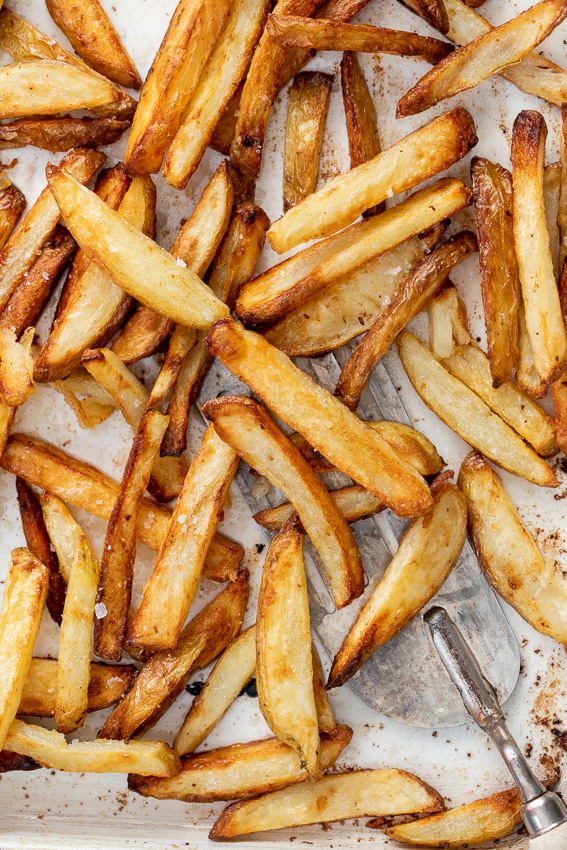 Easy oven baked fries