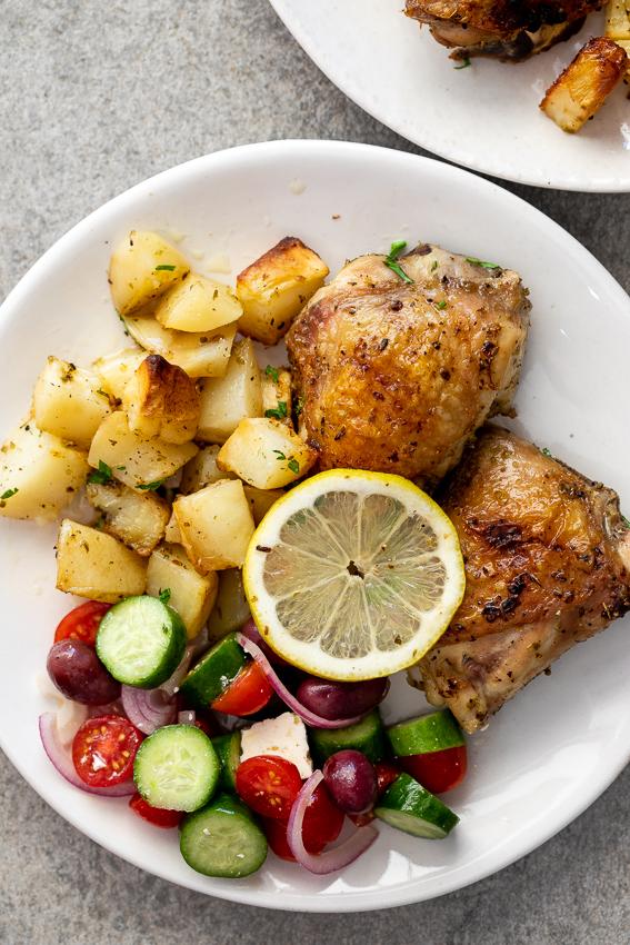Baked Chicken Recipes Lemon Green Beans