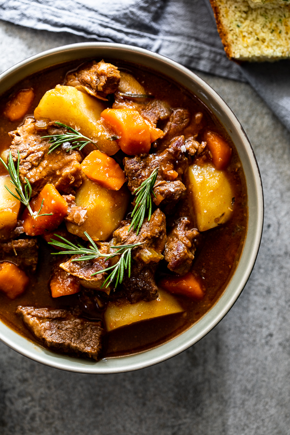 Instant Pot Guinness beef stew - Simply Delicious