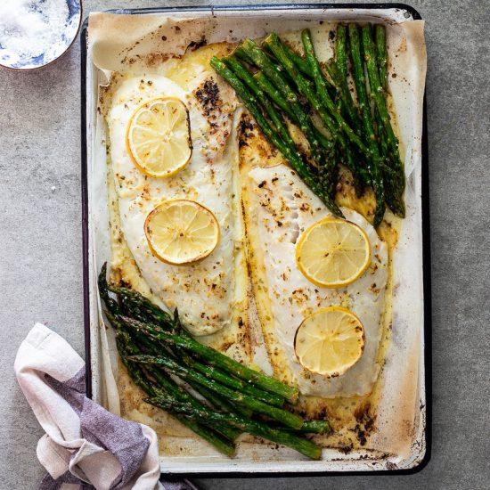 Easy lemon butter baked fish