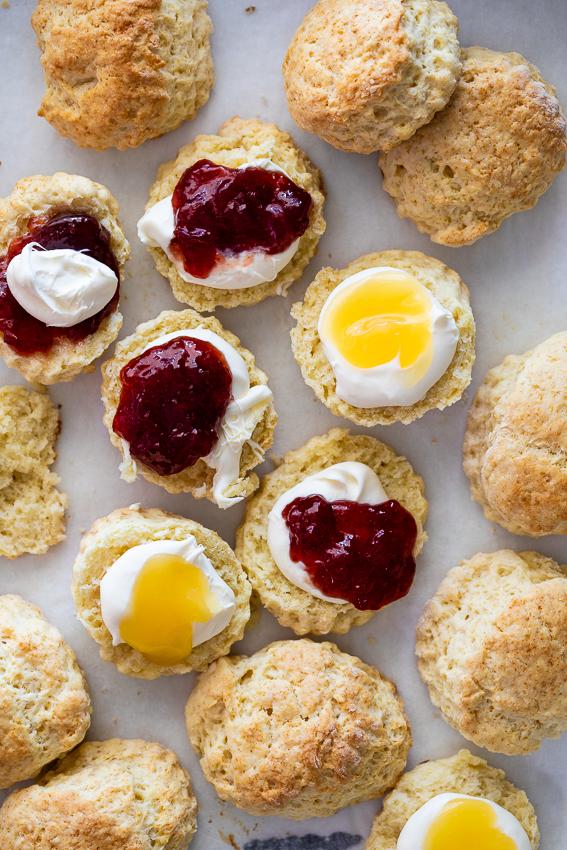 Easy buttermilk scones