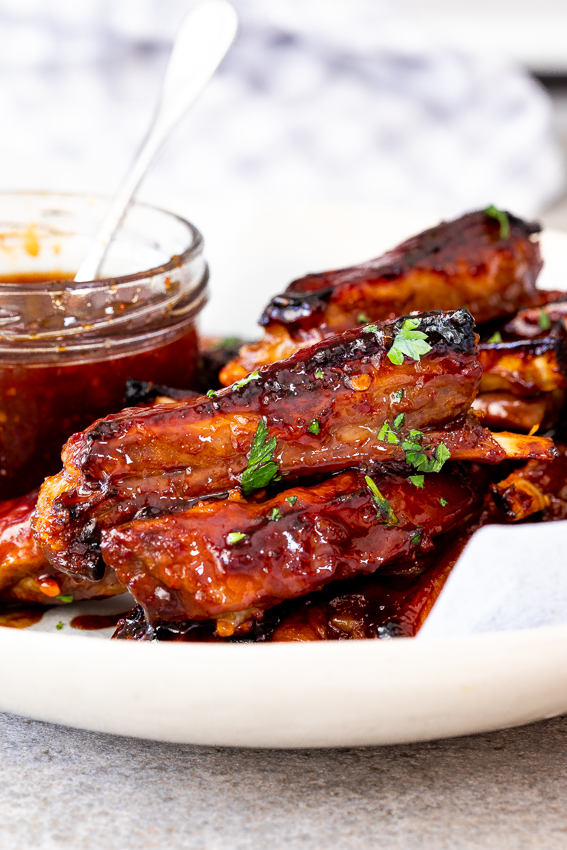 Easy Sticky Lamb Ribs Simply Delicious
