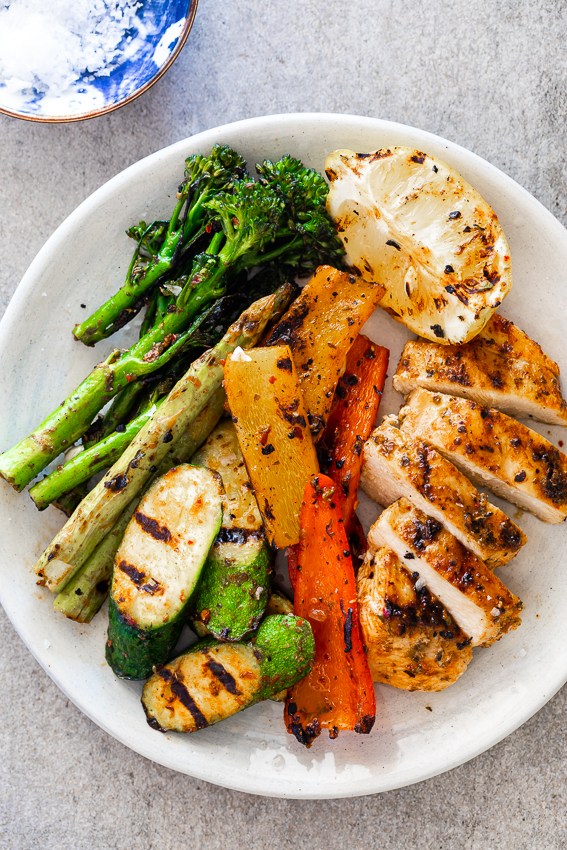 30 Minute Easy Grilled Chicken And Vegetables Simply Delicious