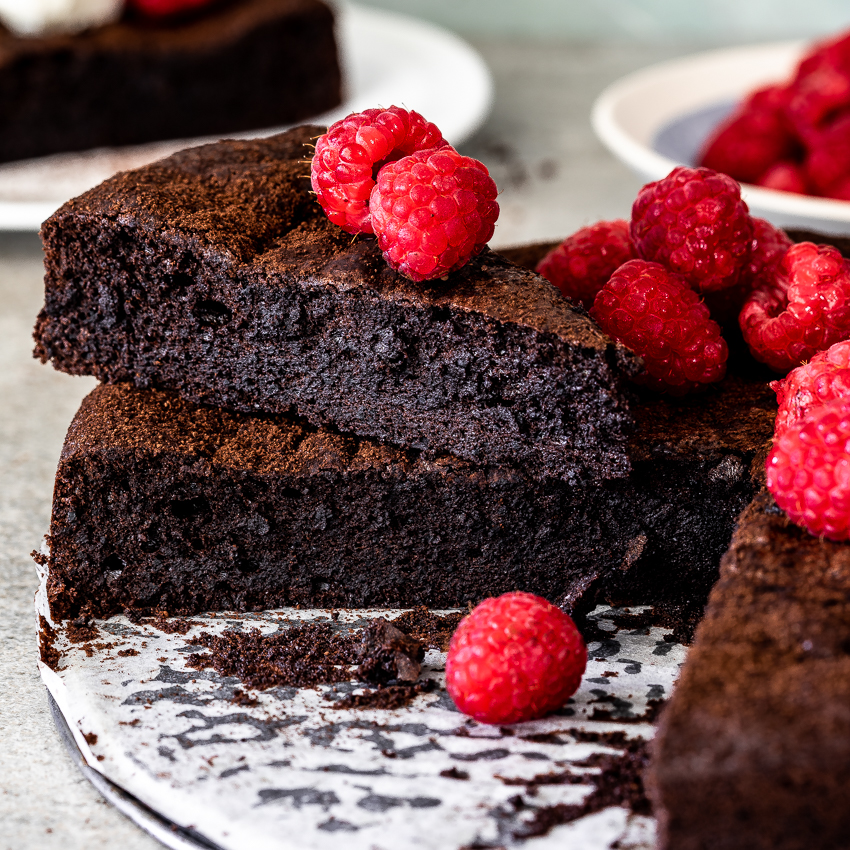 Flourless Chocolate Cake Simply Delicious