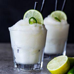 Jalapeño Margarita slushies