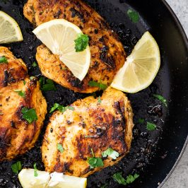 Lemon herb chicken breasts