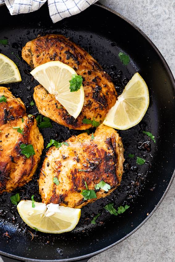 Lemon Herb Chicken Breasts Simply Delicious
