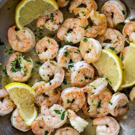Easy lemon pepper shrimp