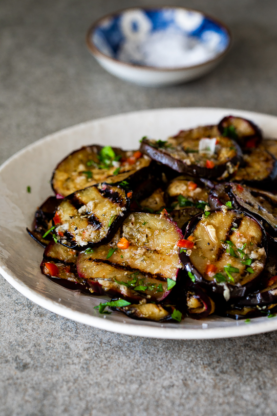 Easy marinated eggplant