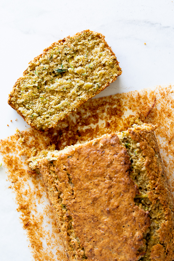 Easy healthy zucchini bread