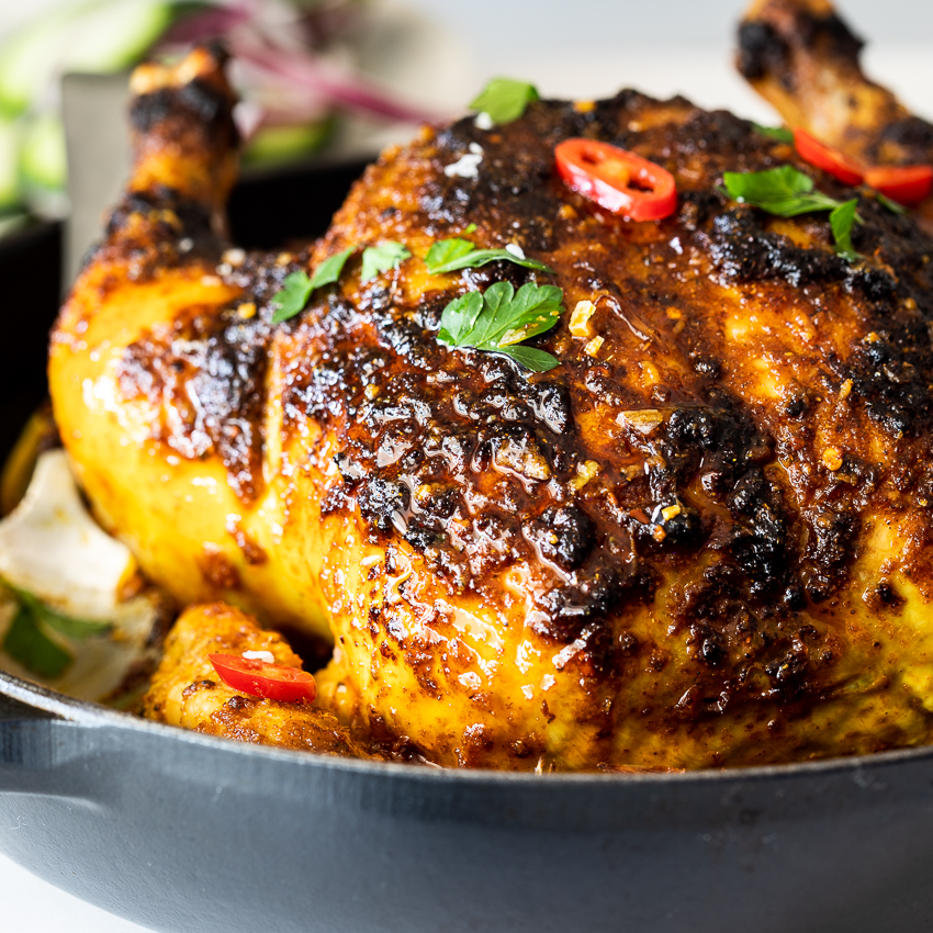 Indian Spiced Roast Chicken Simply Delicious