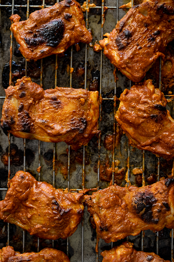 Easy Tandoori chicken in the oven.