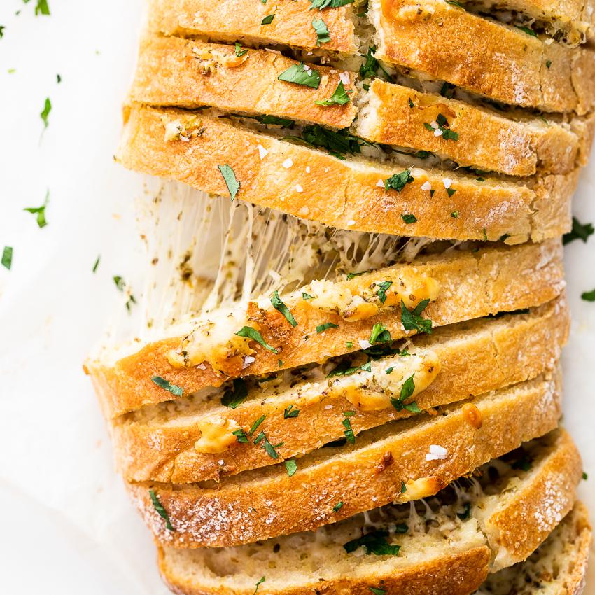 Cheesy Pull Apart Garlic Bread Simply Delicious