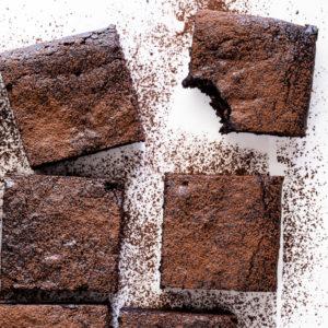 Easy fudgy chocolate brownies