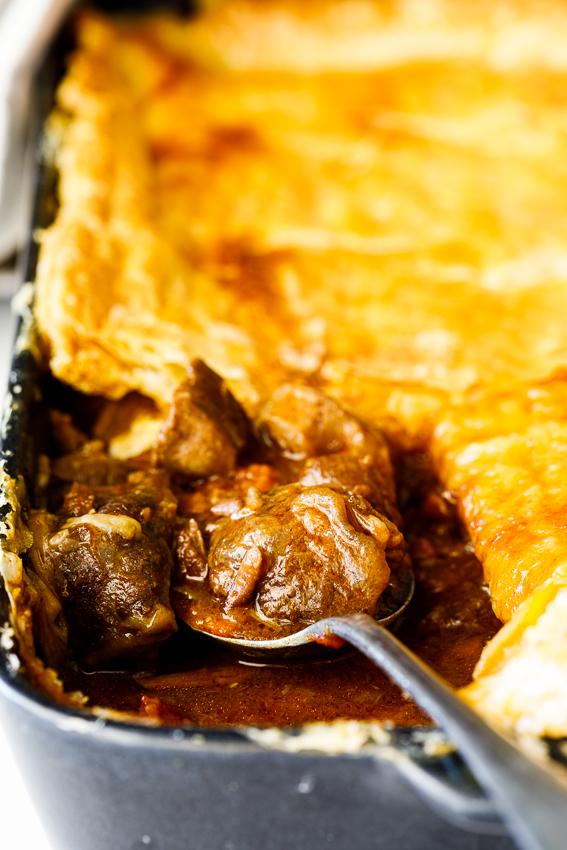 Easy beef pot pie