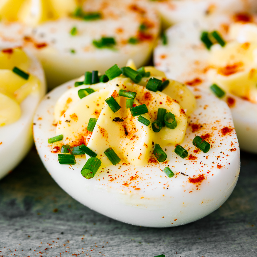 Easy Classic Deviled Eggs Simply Delicious