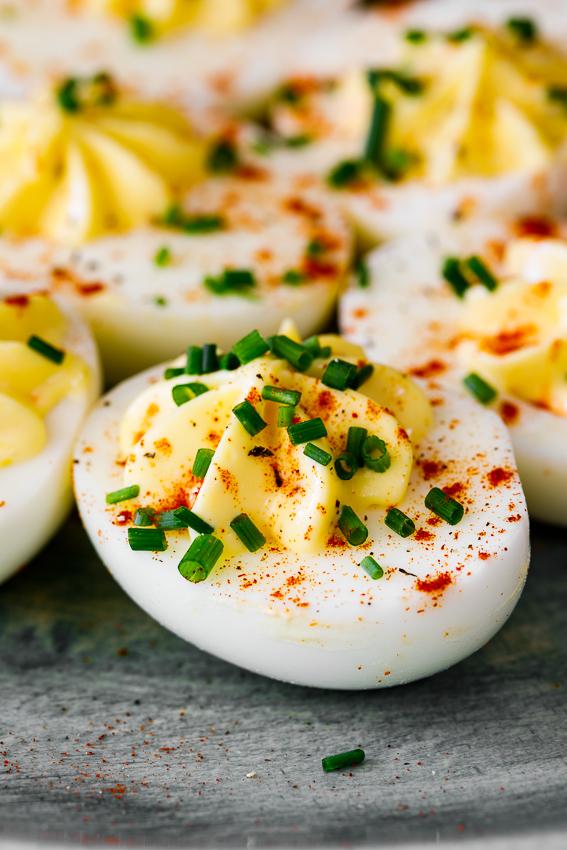 Easy classic deviled eggs