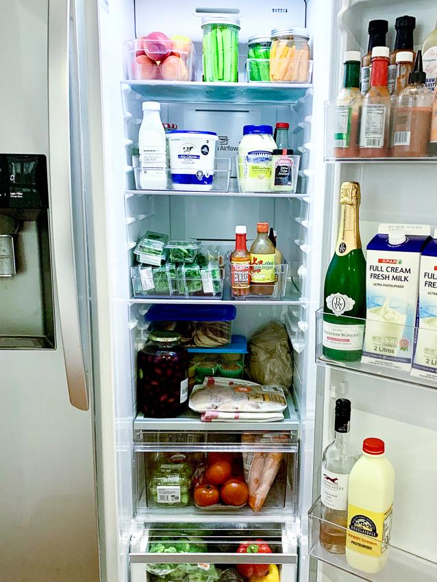Stocking a pantry, fridge and freezer tips