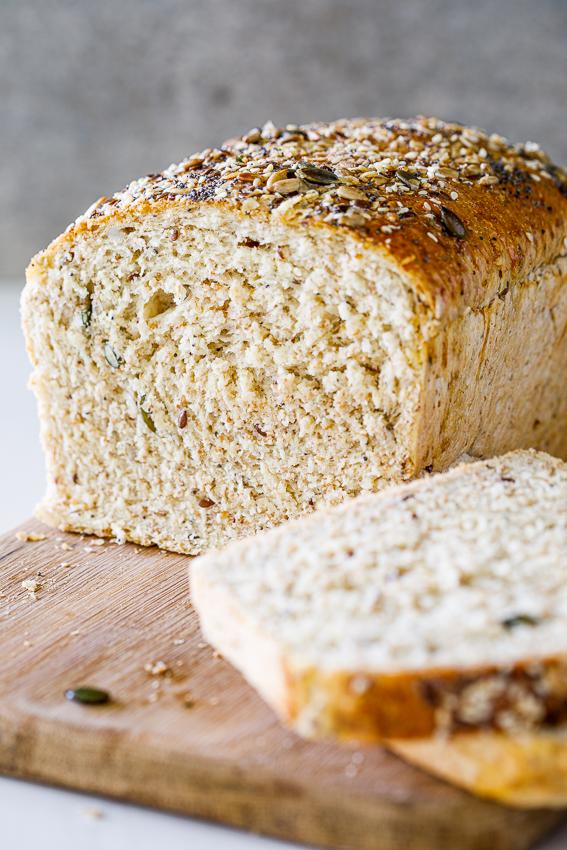 Easy Healthy sandwich bread