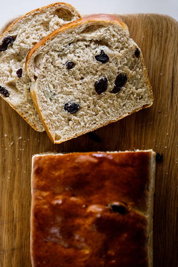 Easy cinnamon raisin bread recipe.