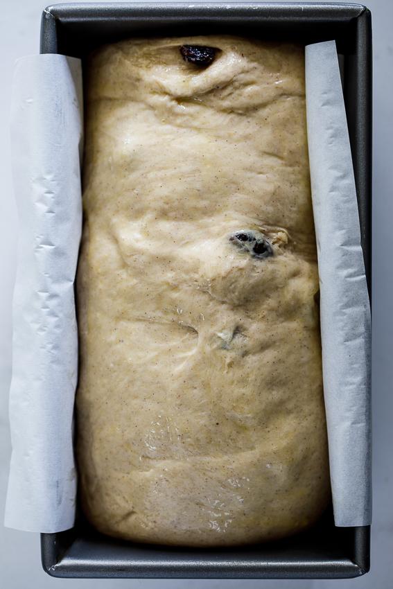 Easy cinnamon raisin dough