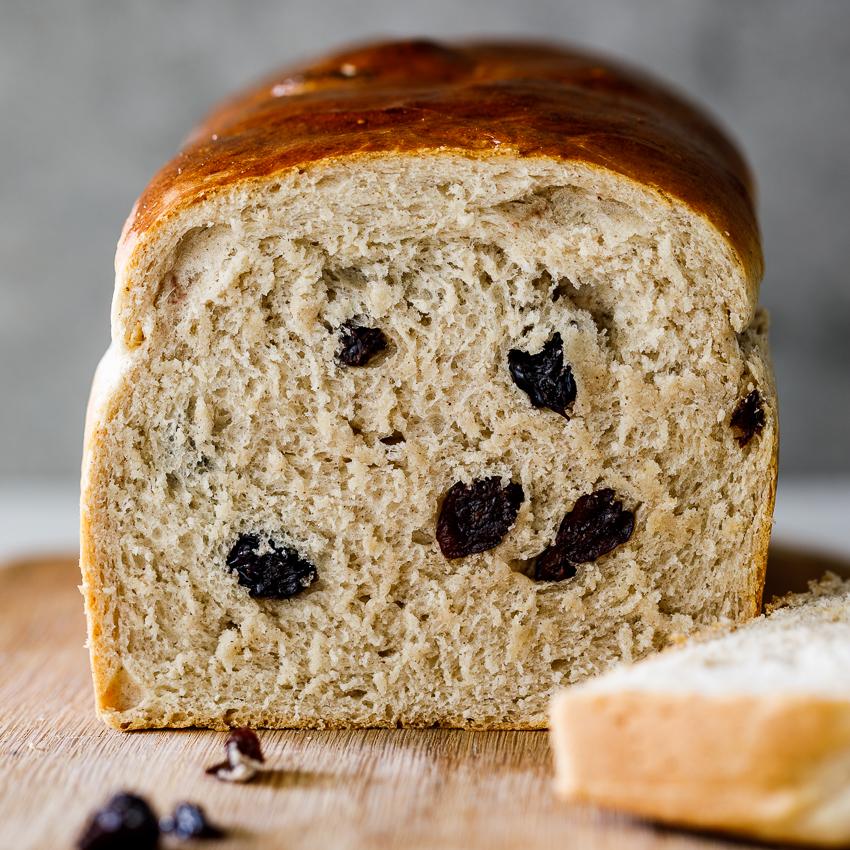 Easy Cinnamon Raisin Bread Simply Delicious