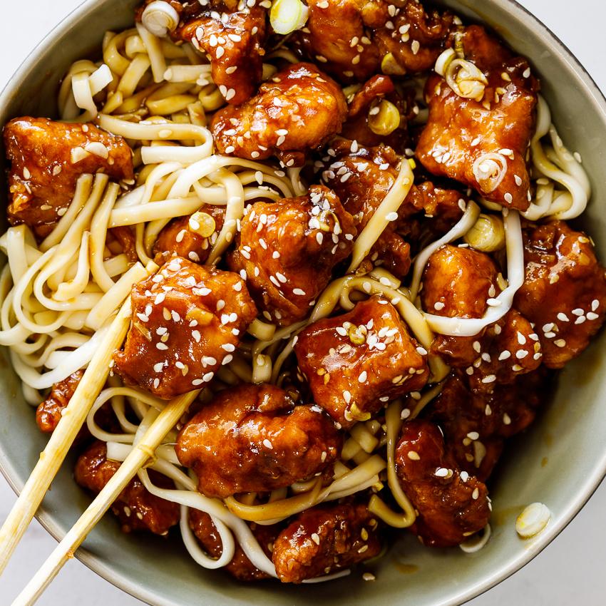 Crispy Sesame Chicken Simply Delicious