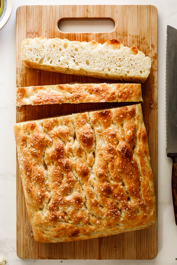Easy Focaccia Bread Simply Delicious