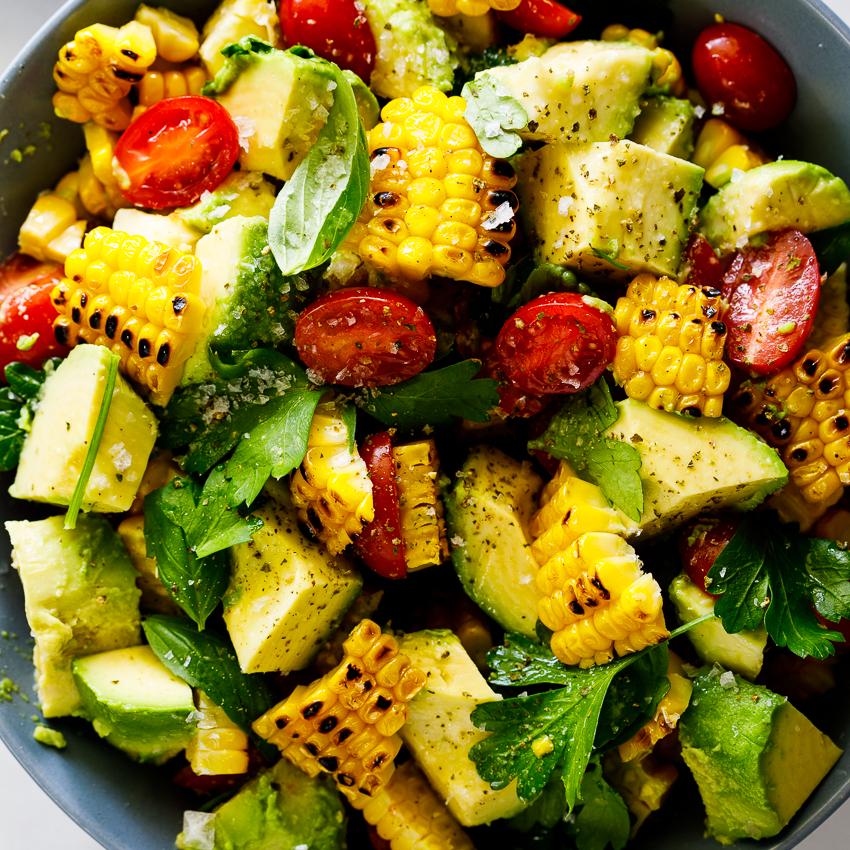 Corn Salad Recipe Roasted