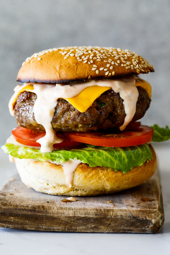 The best easy burger sauce