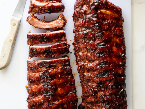 Sticky Bbq Ribs Simply Delicious