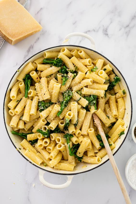 20-min Broccoli pasta al Limone
