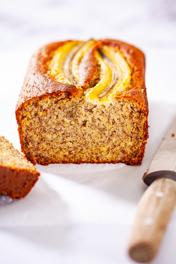 Banana bread flavored with chai spices.