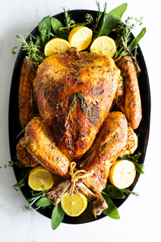 Garlic Herb Roast Turkey