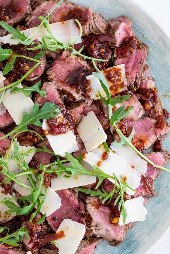 Easy Steak Tagliata