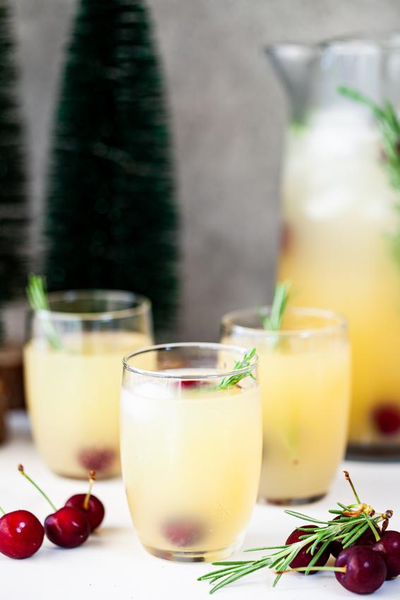 Easy Apple Ginger Wine Spritzer