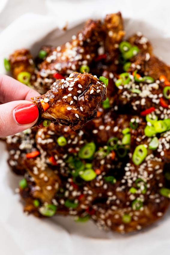 General Tso chicken wings