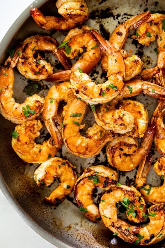 Easy spicy shrimp