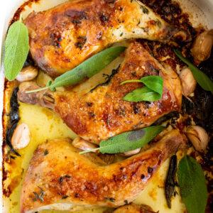 Juicy Buttermilk Roast Chicken