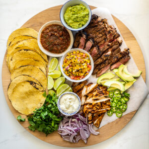 Easy taco board