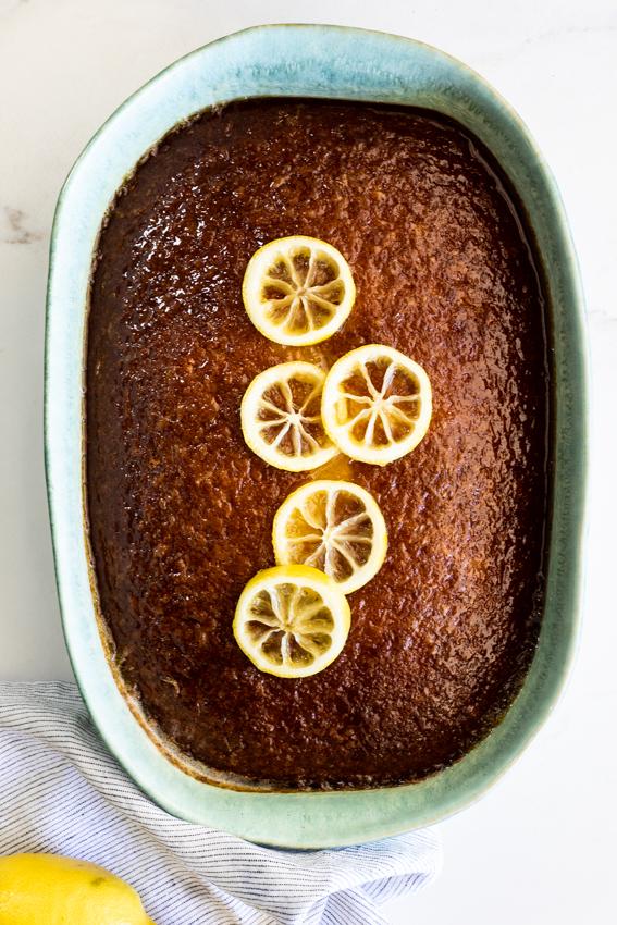 Easy Lemon Pudding Cake