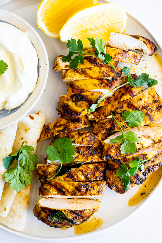 Curried Grilled Chicken Breast