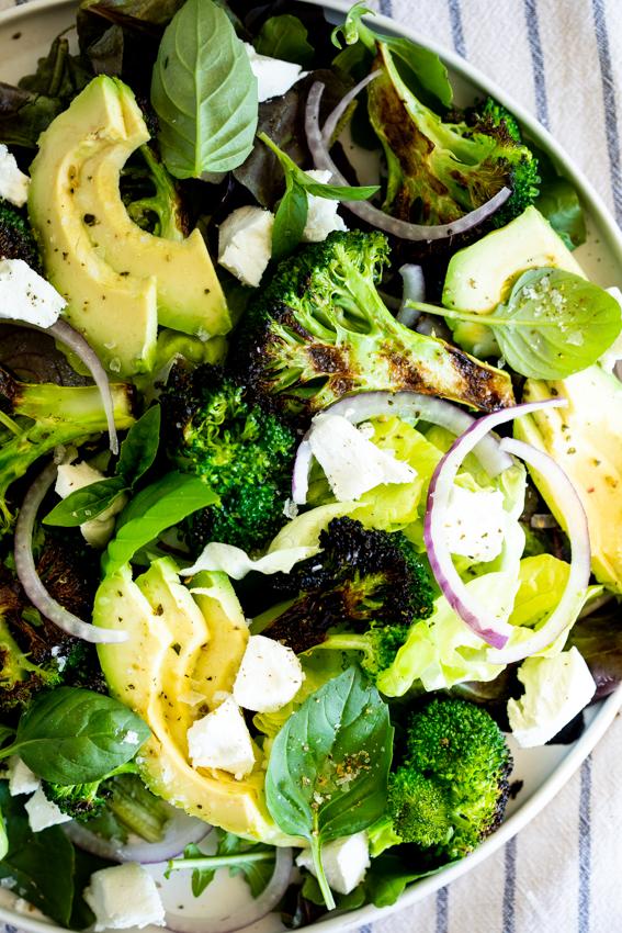 Easy Grilled Broccoli Salad