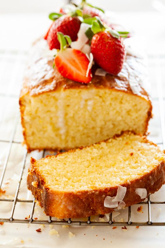 Coconut Lemon Pound Cake