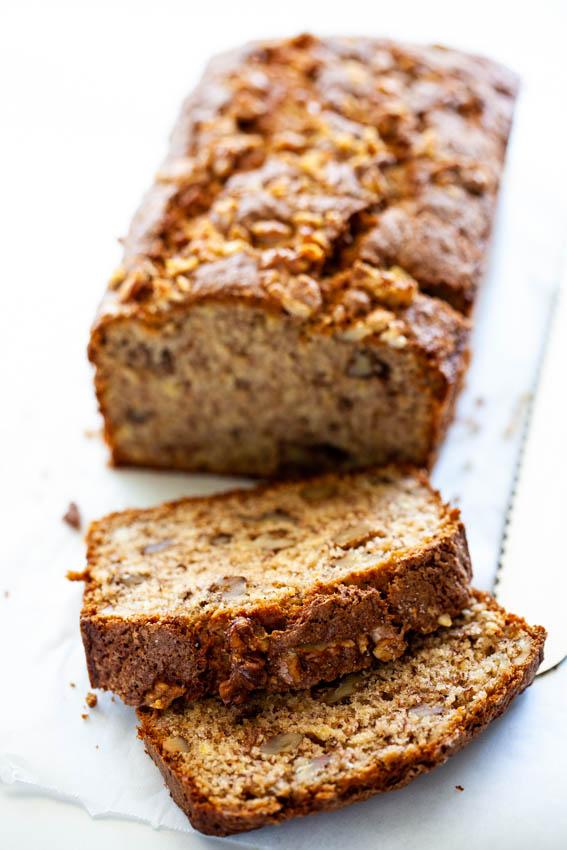 Cinnamon Banana Nut Bread