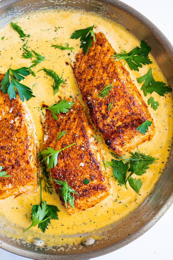 Creamy Cajun Salmon