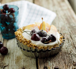 Fruit & Yoghurt Tarts
